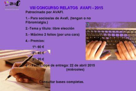 VIII Certamen Relato Breve Avafi 2015