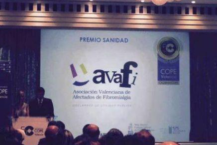 Avafi recibe de la Cope el premio Sanidad 2015