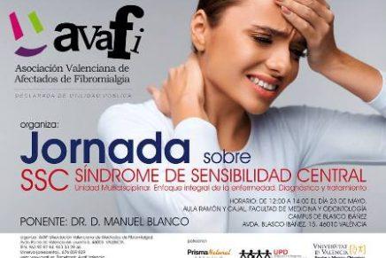 Avafi organiza Jornada sobre SSC