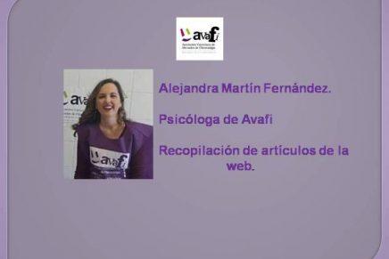 Artículos de Alejandra, psicóloga de Avafi