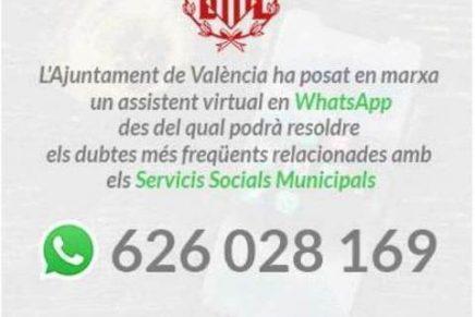 Asistente virtual. Aytº Valencia.