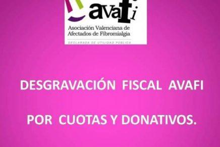 Desgravación fiscal Avafi.